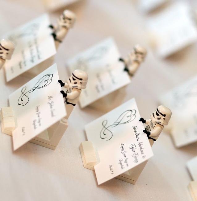 Star Wars üdvözlőkártyák esküvőre