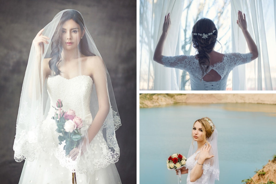esküvői hajdísz, esküvői fejdísz, menyasszonyi fátyol